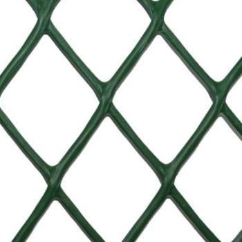 сетка пластиковая ромб темно-зеленая