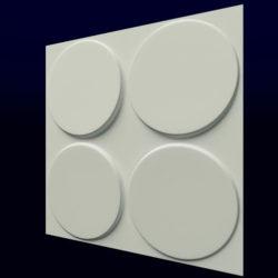 """Гипсовые 3D панели для стен """"Твистер"""""""