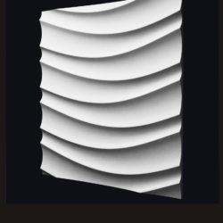 """Гипсовые 3D панели для стен """"Бриз"""""""