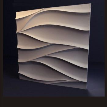 """Гипсовые 3D панели для стен """"Нежность"""""""
