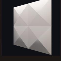 """Гипсовые 3D панели для стен """"Гиза"""""""