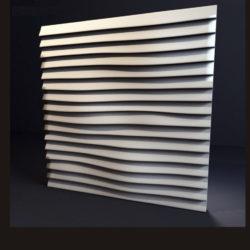 """Гипсовые 3D панели для стен """"Линии"""""""
