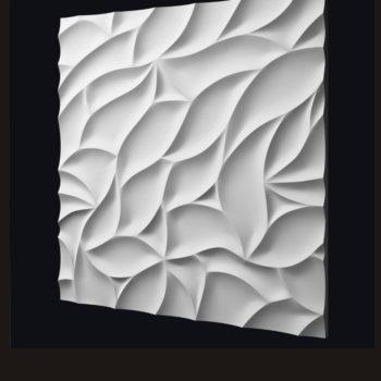 """Гипсовые 3D панели для стен """"Листва"""""""