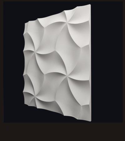 """Гипсовые 3D панели для стен """"Оригами"""""""