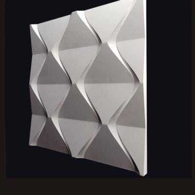 """Гипсовые 3D панели для стен """"Пирамидки"""""""
