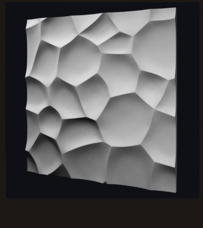 """Гипсовые 3D панели для стен """"Ракушки"""""""