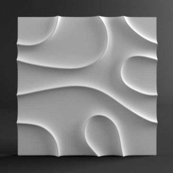 """Гипсовые 3D панели для стен """"Шаула"""""""
