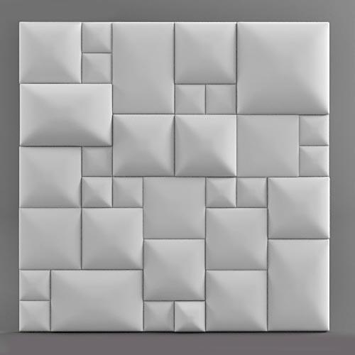 """Гипсовые 3D панели для стен """"Сарин"""""""