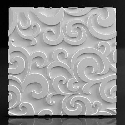 """Гипсовые 3D панели для стен """"Leaf"""""""