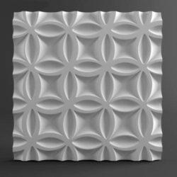"""Гипсовые 3D панели """"Краз"""""""