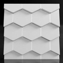 """Дизайнерские гипсовые 3d панели для стен """"Roof"""""""