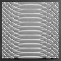 """3D гипсовые панели """"Кафт"""""""