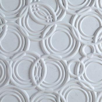 """Гипсовые 3D панели для стен """"Бульки"""""""