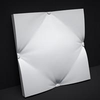 """Гипсовые 3D панели для стен """"Пушок"""""""