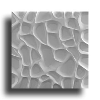 """Гипсовые 3D панели для стен """"Сангрия"""""""