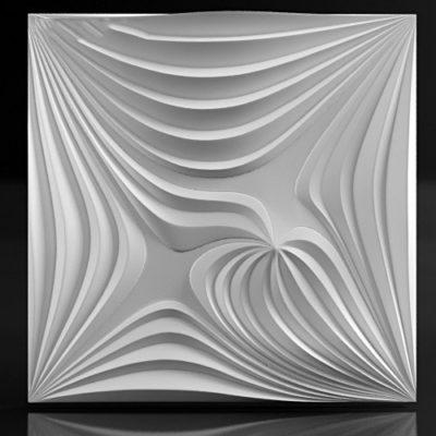 """Гипсовые 3D панели для стен """"Magnet"""""""