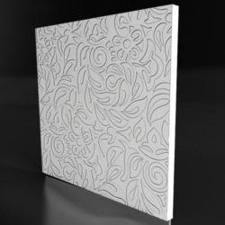 """Гипсовые 3D панели для стен """"Жасмин"""""""