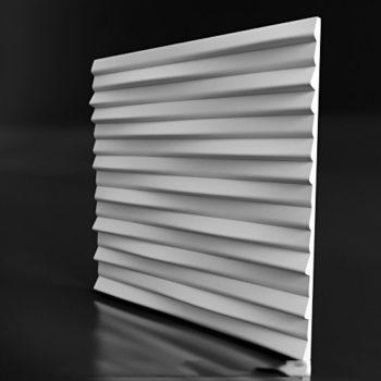 "Гипсовые 3D панели для стен ""Linen 1"""