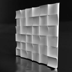 """Гипсовые 3D панели для стен """"Сhip"""""""