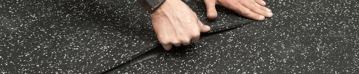 как уложить резиновую плитку